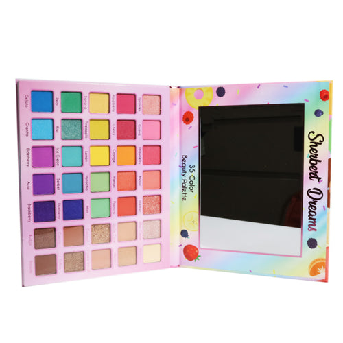 Malibu Glitz - Sherbeart Dreams 35 Color Beauty Palette