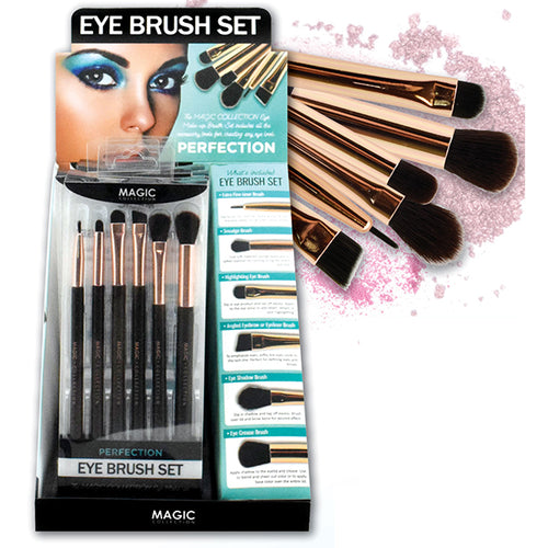 Magic Eye brush 6pc set