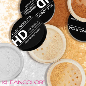 Kleancolor HD Mattifying finishing loose powder
