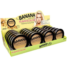 Load image into Gallery viewer, Kleancolor Banana pressed powder-brightening finishing powder