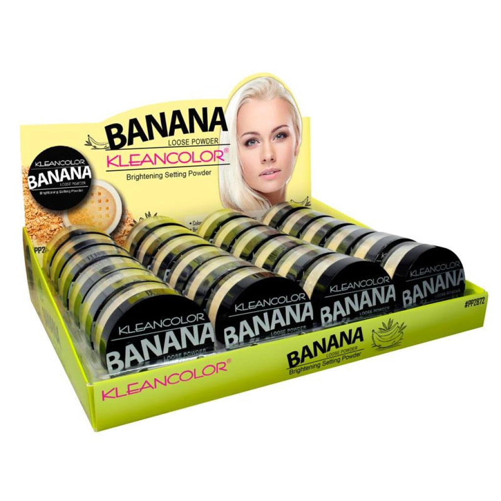 Kleancolor Banana powder-brightening setting loose powder