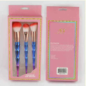 ANA Beauty - Premium fan 3pc brush set