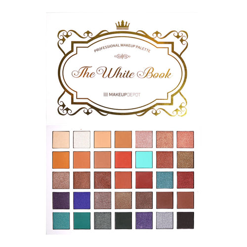 Makeupdepot 35 color palette - White Book (New)