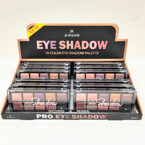 JK - 10 Color Eye Shadow Palette - Natural & Nudes