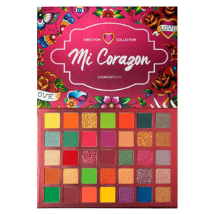 Makeupdepot 35 color palette - Mi Corazon