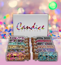 Load image into Gallery viewer, Candice - 12 Colors Galaxy Glitter Set