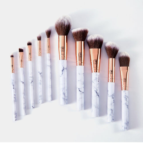 Lurella - Deluxe Marble Brush 10pcs Set