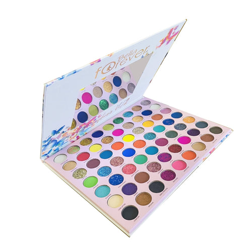 Bella Forever - 63 Colors Methamorphosis Vol.2 Eyeshadow Pallete