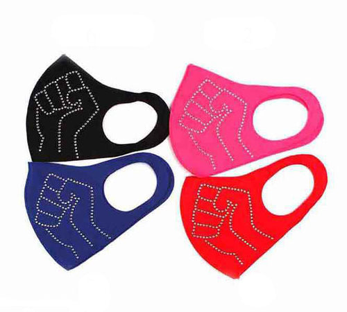 Stone Fashion Mask - Fist 1