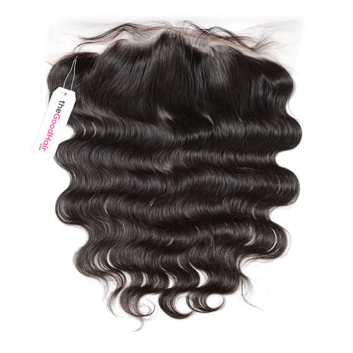13x4 Lace frontal Human hair body wave