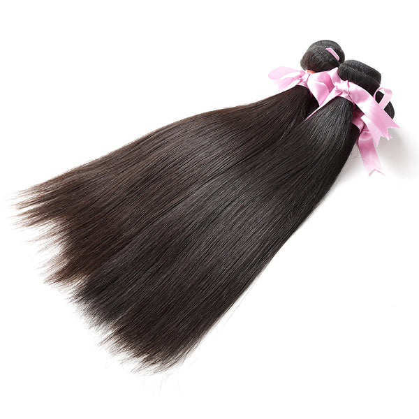 7A Hair Weave Malaysian Virgin Hair Straight