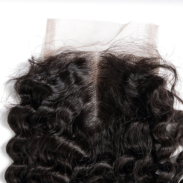 4x4 lace closure brazilian hair deep curly