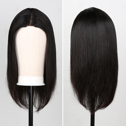 Bob wig human hair lace wig straight