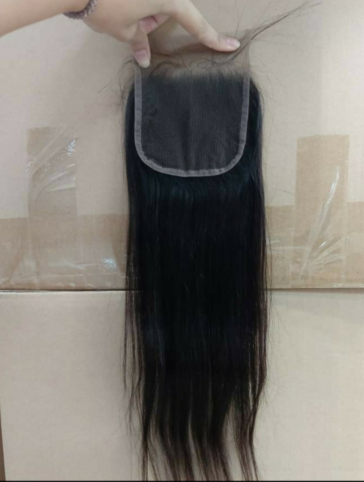 4x4 black closure(straight and body wave)-lily