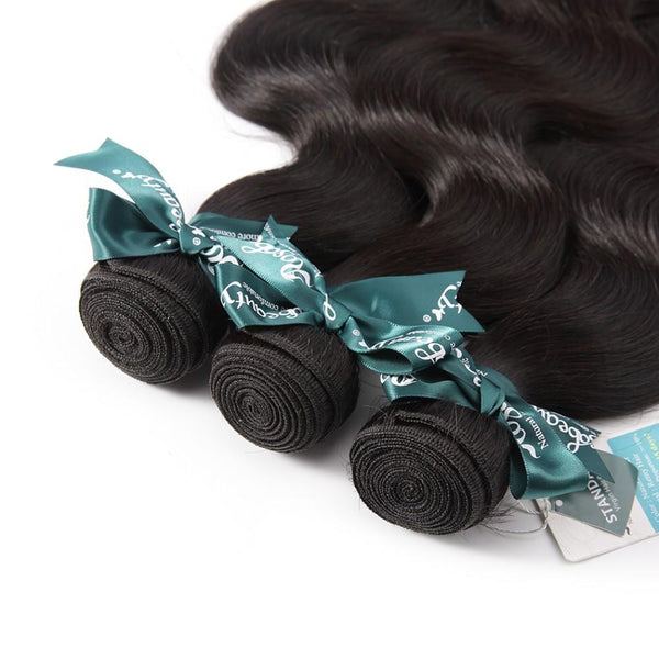 8A Hair Weave Indian Virgin Hair Body Wave