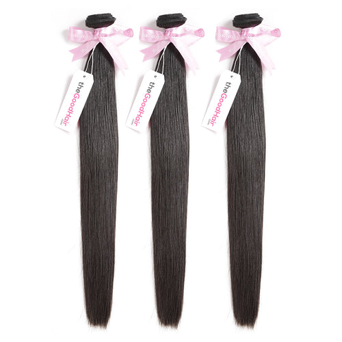 100% Human Virgin Hair Natural Straight