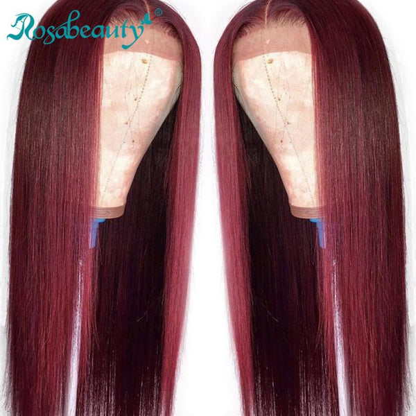 T Part 99J Straight Lace Frontal Wig Human Hair Wigs