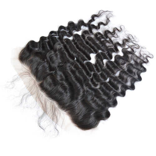 13x6 Lace Frontal Brazilian Hair Deep Wave