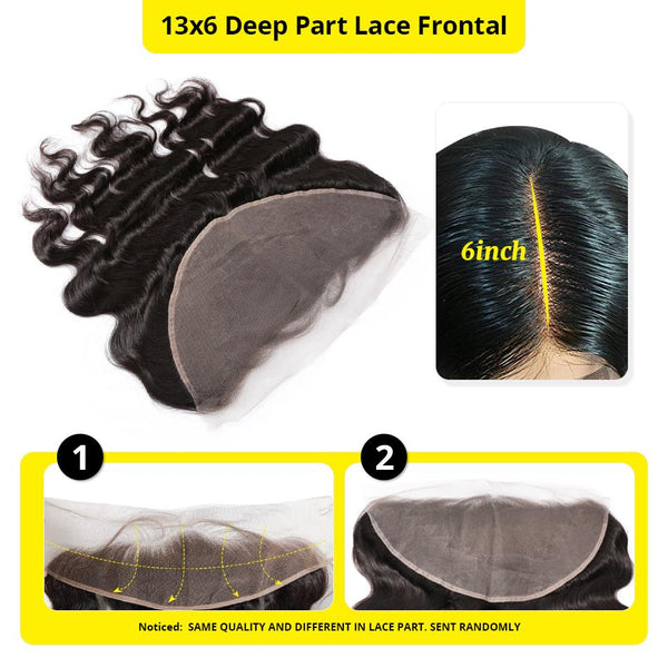7A 4 Bundles Brazilian Hair With 13×6 Frontal Straight