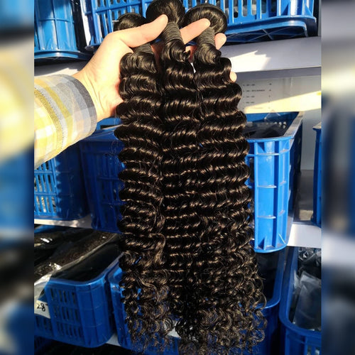 Special long hair deep wave bundles from 28inch to 40inch
