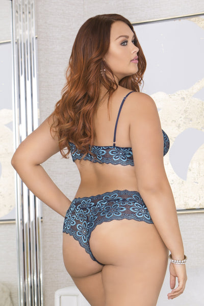 back view of a beautiful plus size woman looking away in the distant