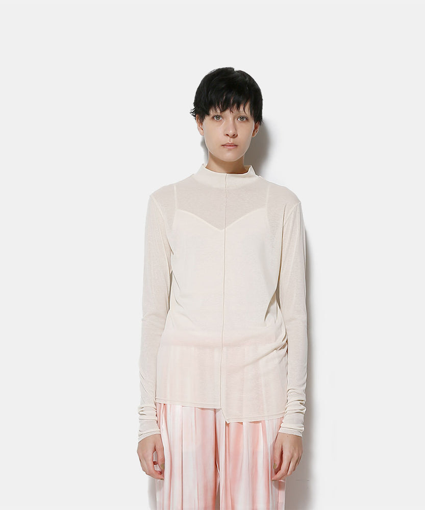 SHEER CO L/S TOP