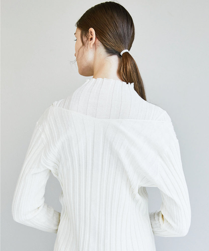 Load image into Gallery viewer, Cotton Sheer Rib Knit Top