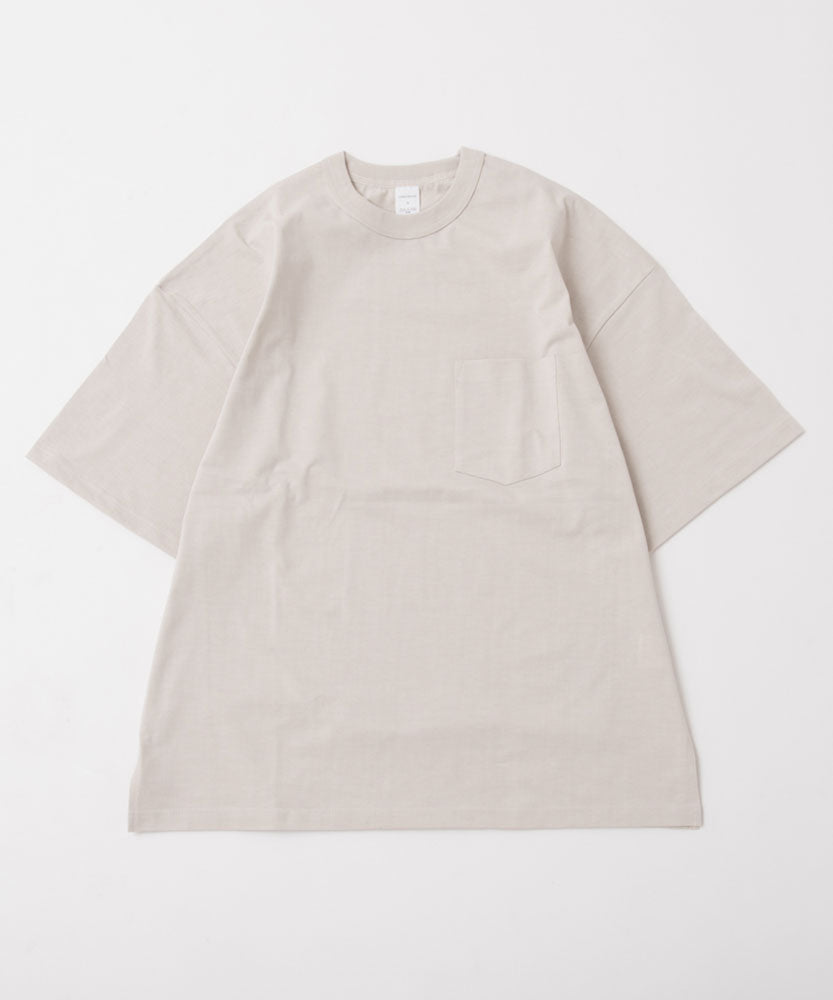 HIGH GAUGE COTTON OVERSIZED S/S TEE