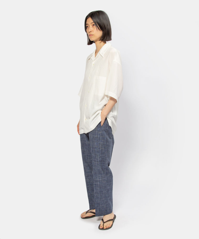 """Kago-some"" elastic pants"