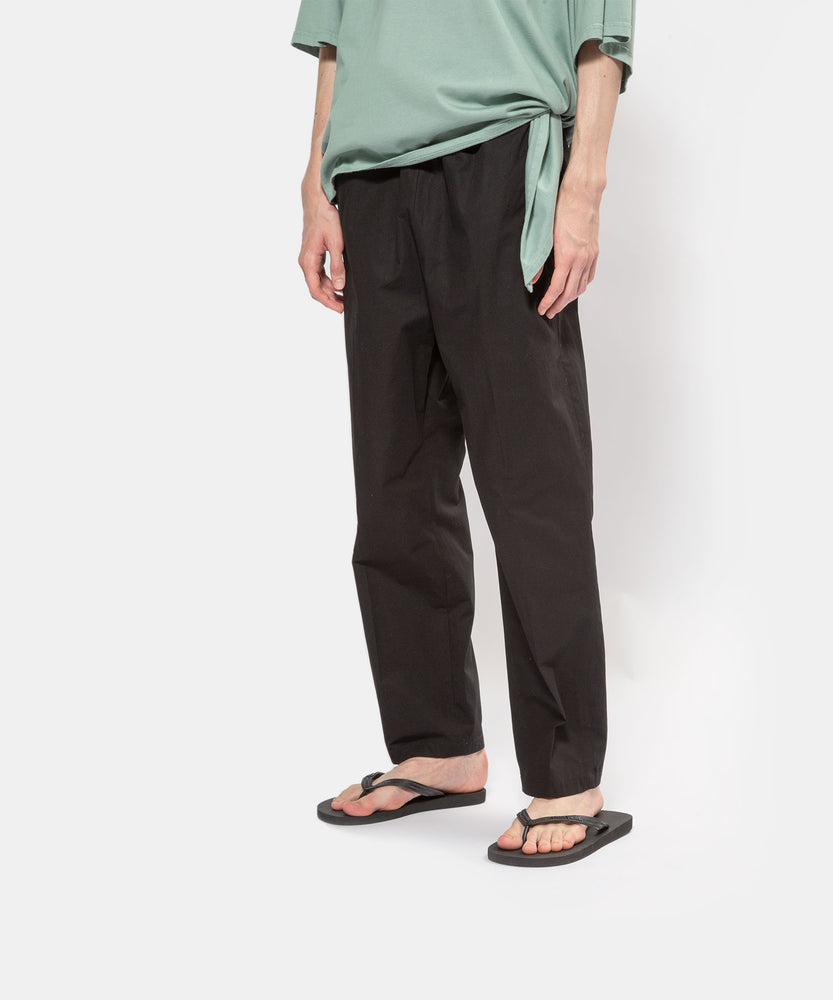 Cool crash cotton elastic pants