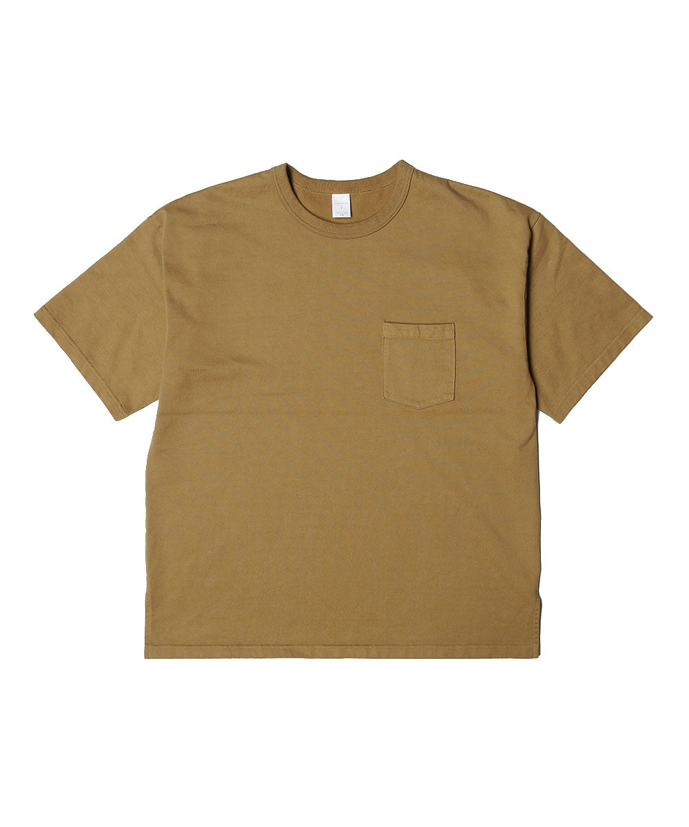 Plating cotton s/s tee[Men]