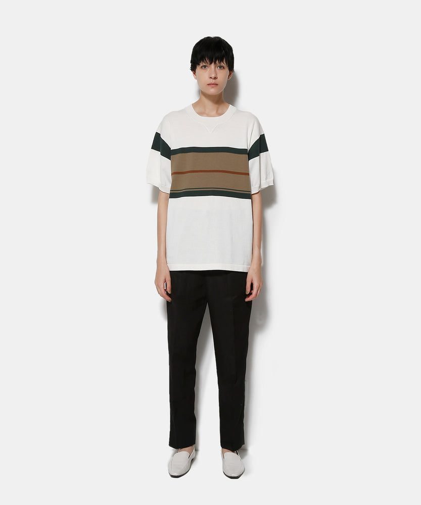 ORGANIC CO STRIPE TOP
