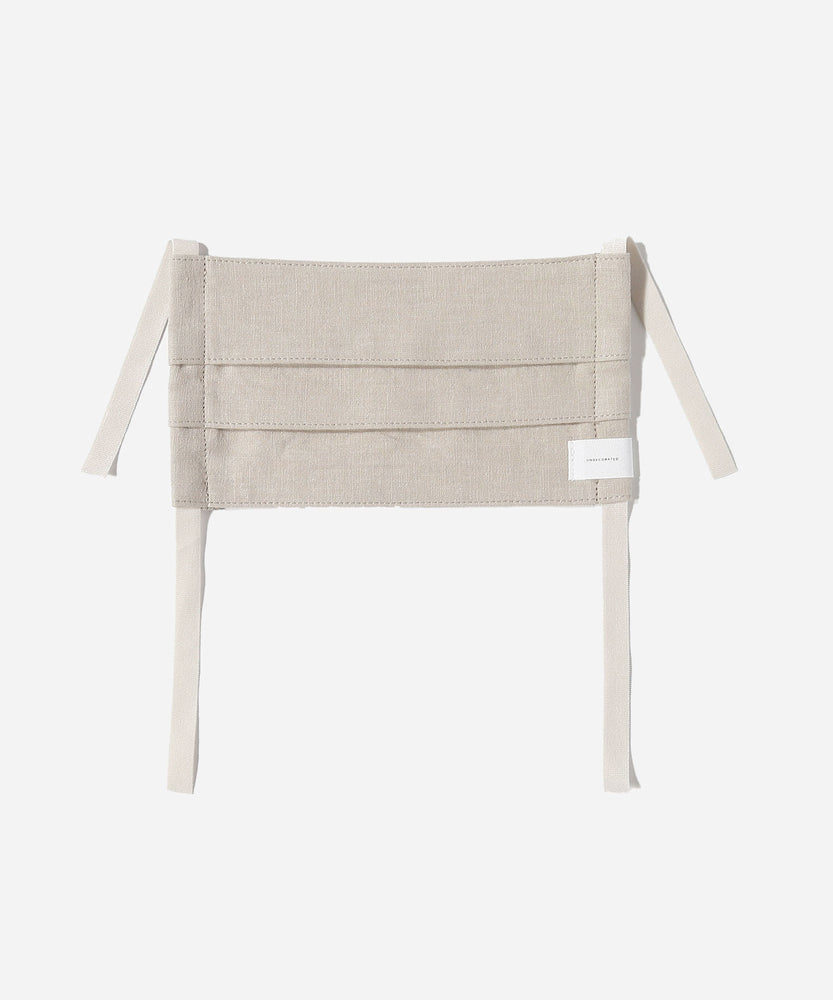 Linen / Cotton Face Mask with Band