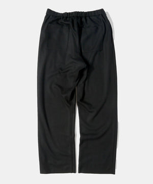 Load image into Gallery viewer, Super140 Wool Knit Melton Wide Pants