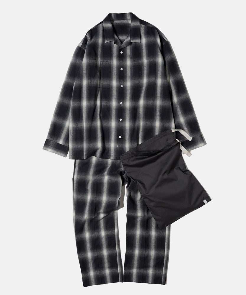 Flannel Check Shhirt & Pants