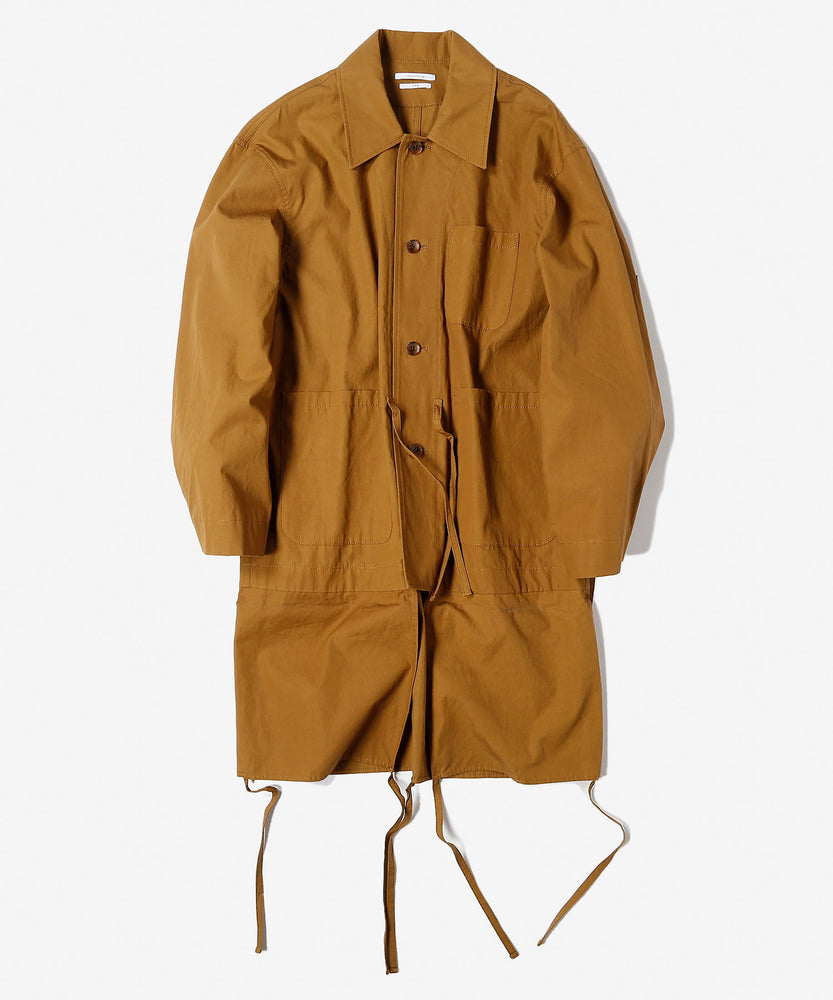Cool crash cotton hunting jacket