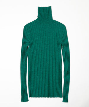 Alpaca hi neck sweater[Womens]