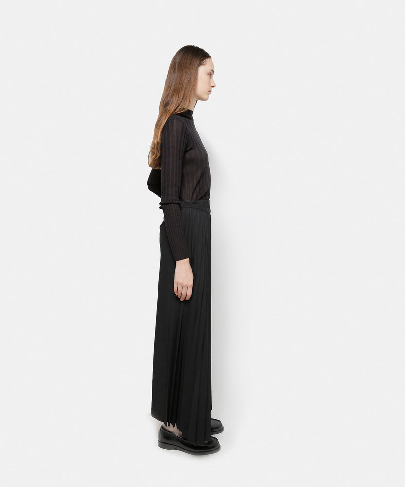 Load image into Gallery viewer, Twisted Wool Pleats Skirtt