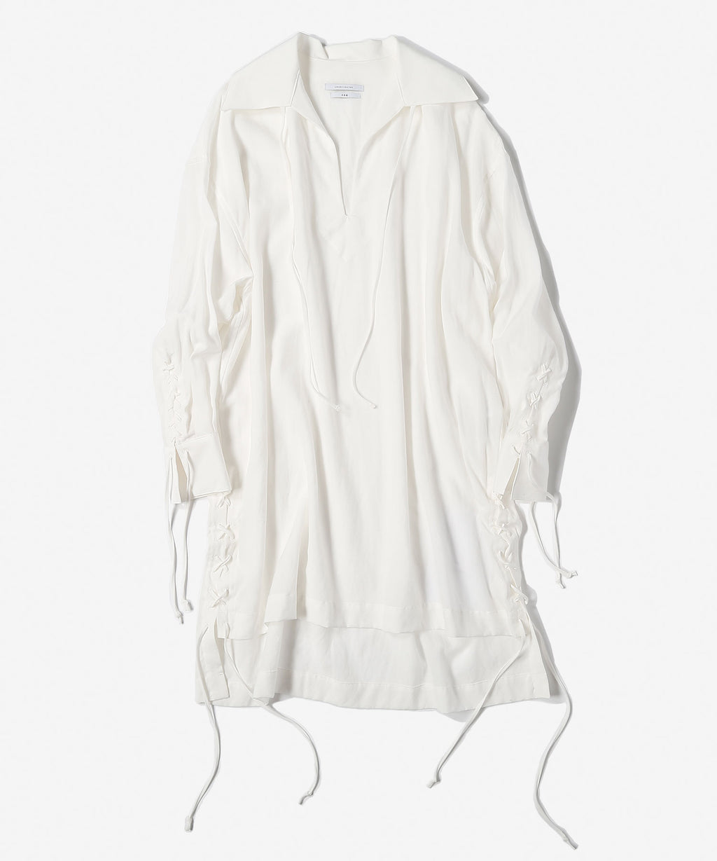 Tropical washedout pull over shrits[Women]