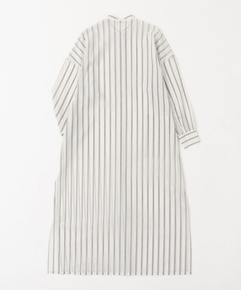 COTTON STRIPE DRESS[WOMEN]