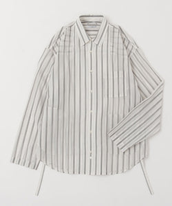 COTTON STRIPE L/S SHIRTS