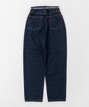 "DENIM JEANS""WIDE STRAIGHT"" *ONE WASHED"