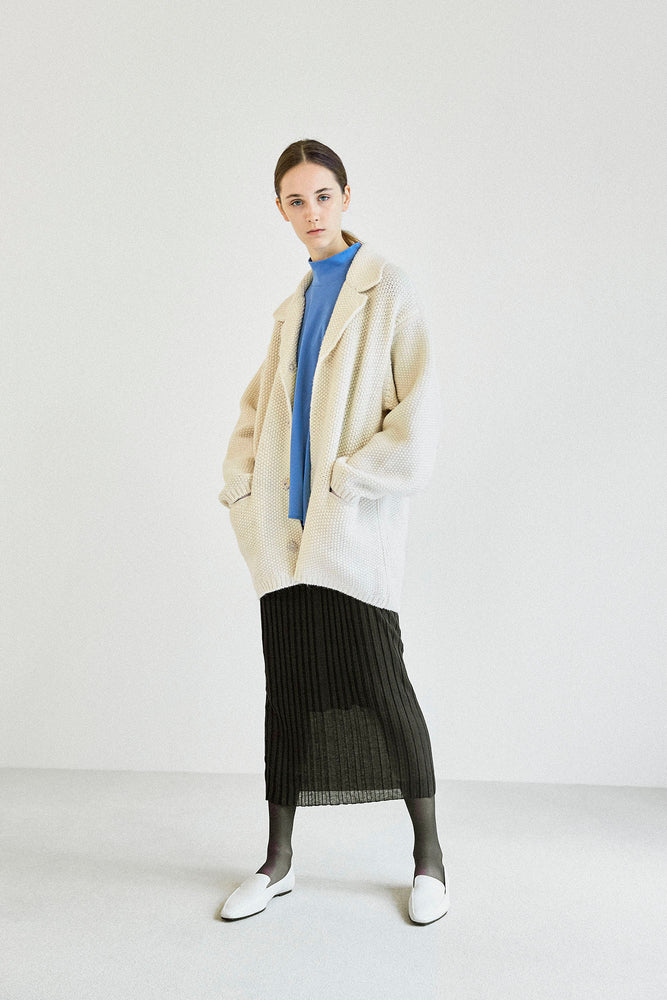 Load image into Gallery viewer, Shetland Wool Gown Cardigan