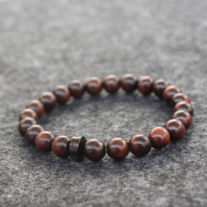 Natural Wood Tibetan Buddhist Mala