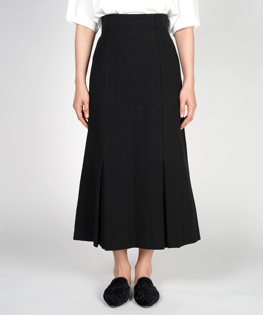 Droë inverted tuck skirt