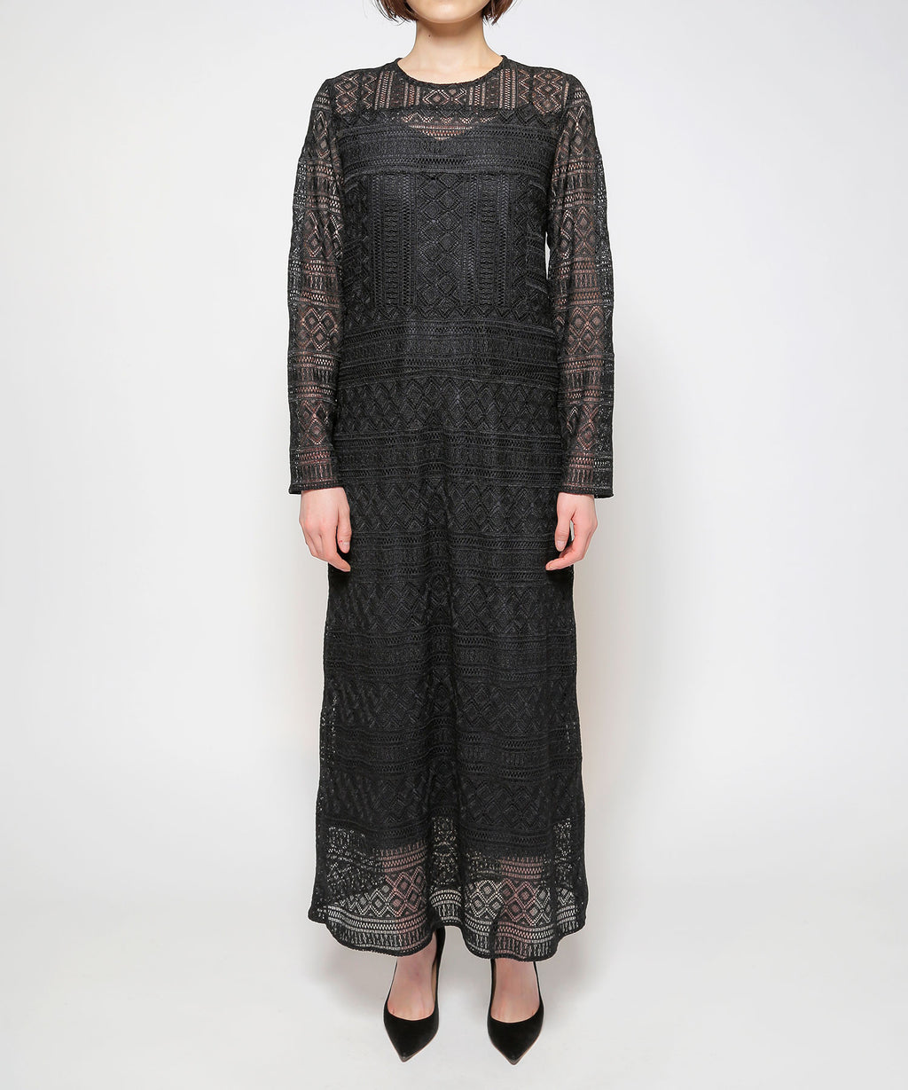 Vrou lace long dress
