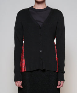 Caballo pleats cardigan