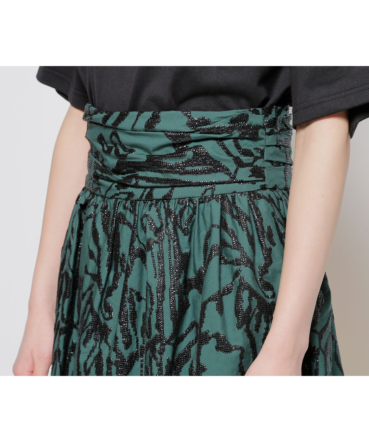 Sterk embroidery skirt