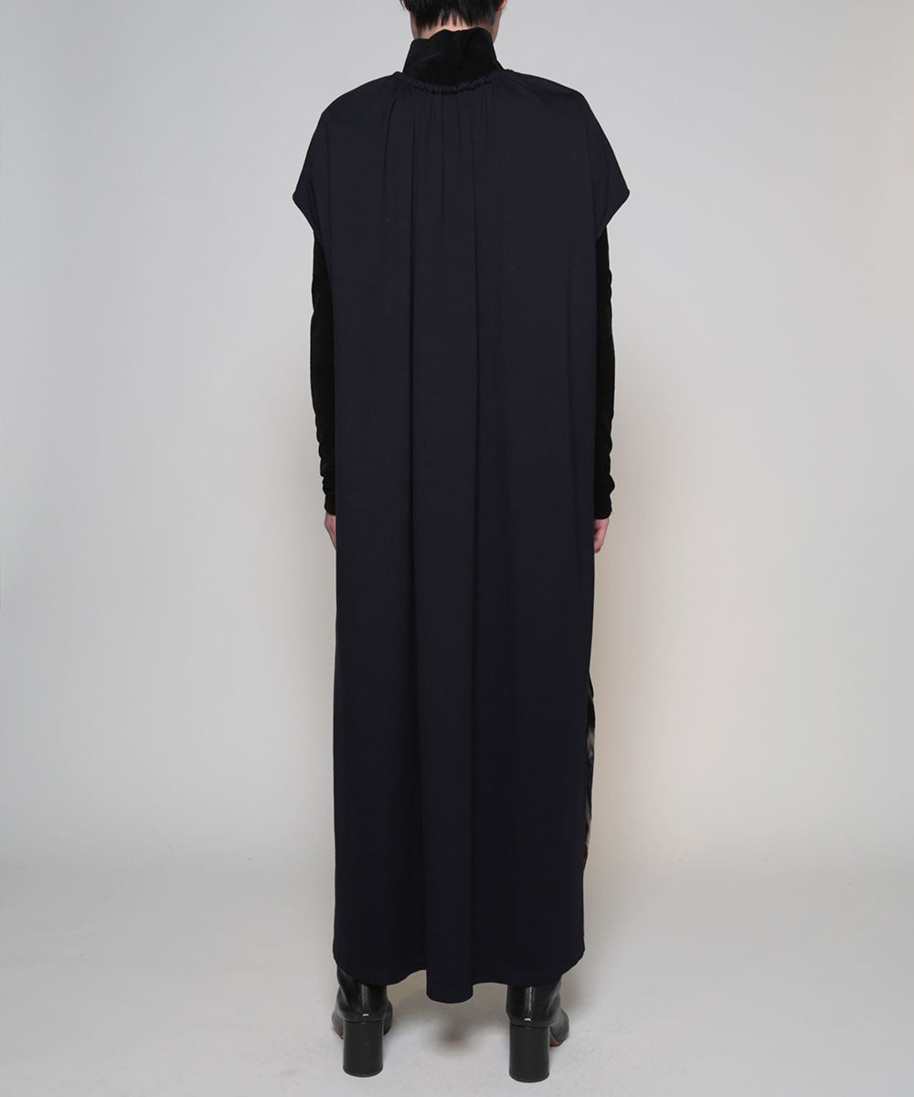 Front gather dress <Barragan >