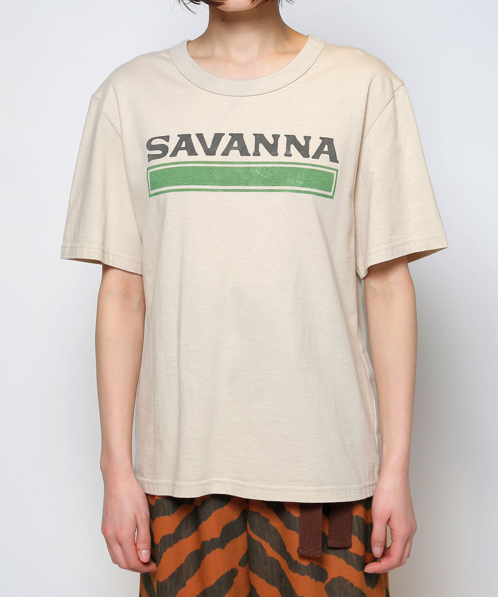 """SAVANNA""half sleeve t-shirts"